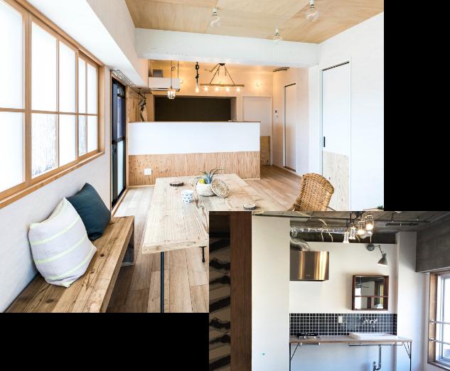 思い通りのデザイン 北欧デザイン 住宅写真