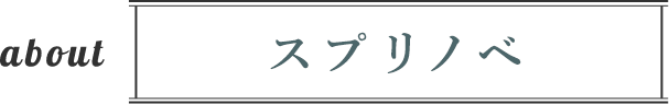 about スプリノベ