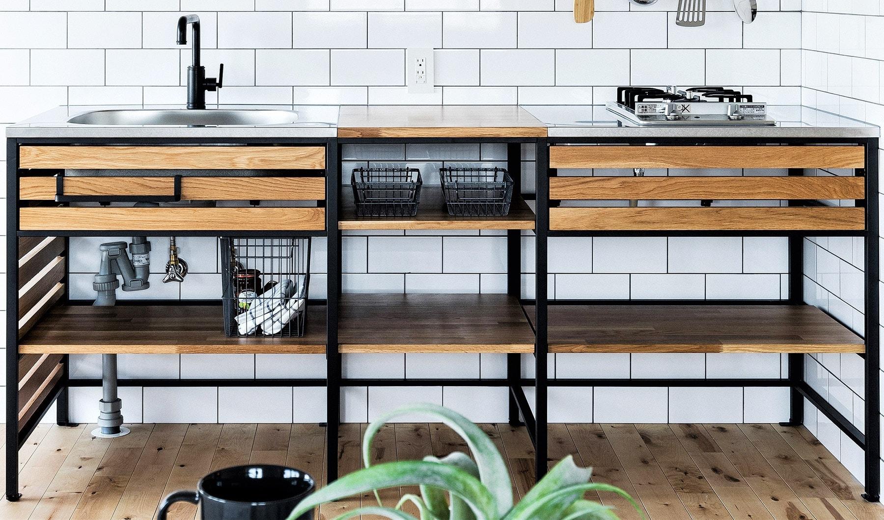 ~キッチンプラン例~ システムキッチン設置(同一タイプ) 工事費70万円