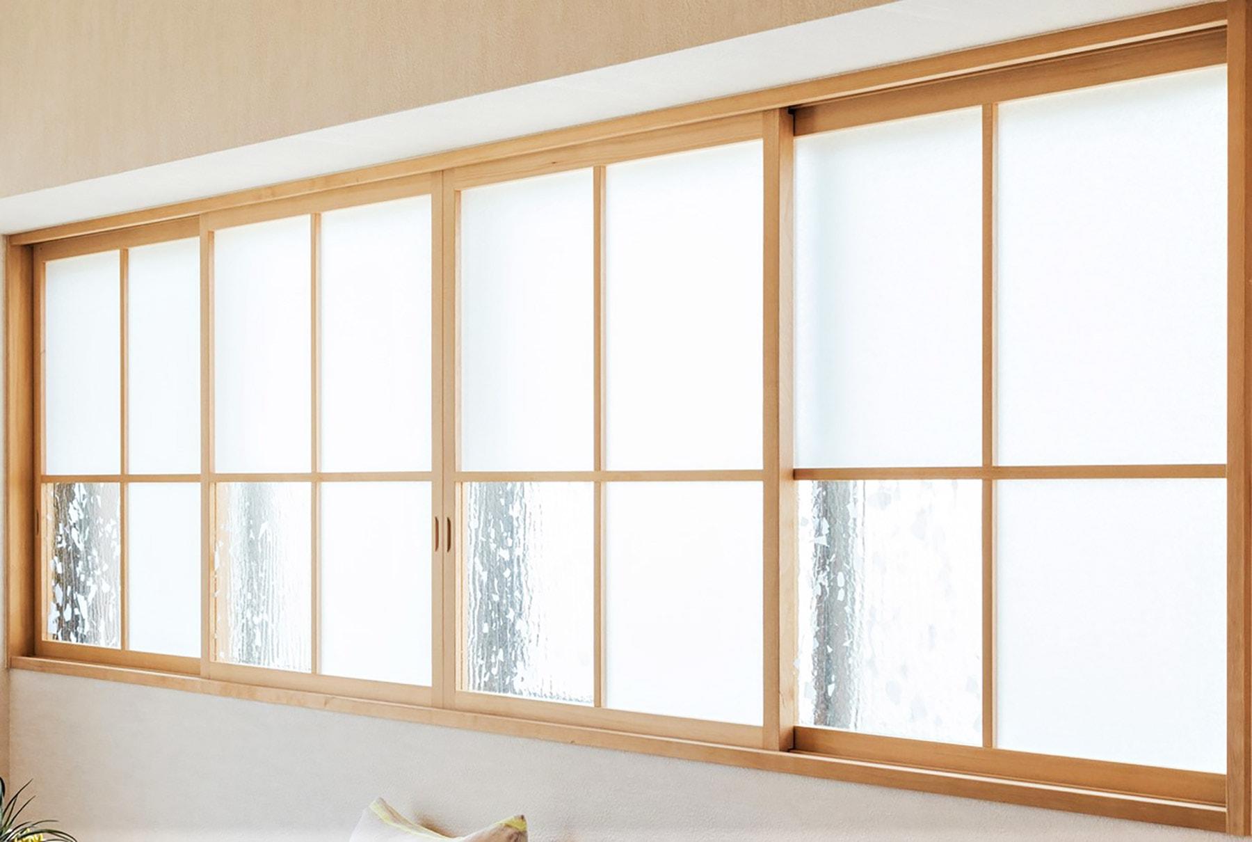 ~飾り窓プラン例~ 飾り窓設置、壁造作(同一タイプ) 工事費50万