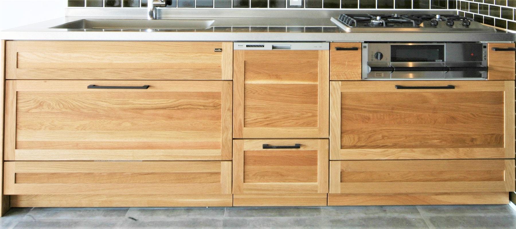 ~キッチンプラン例~ システムキッチン設置(同一タイプ) 工事費90万円