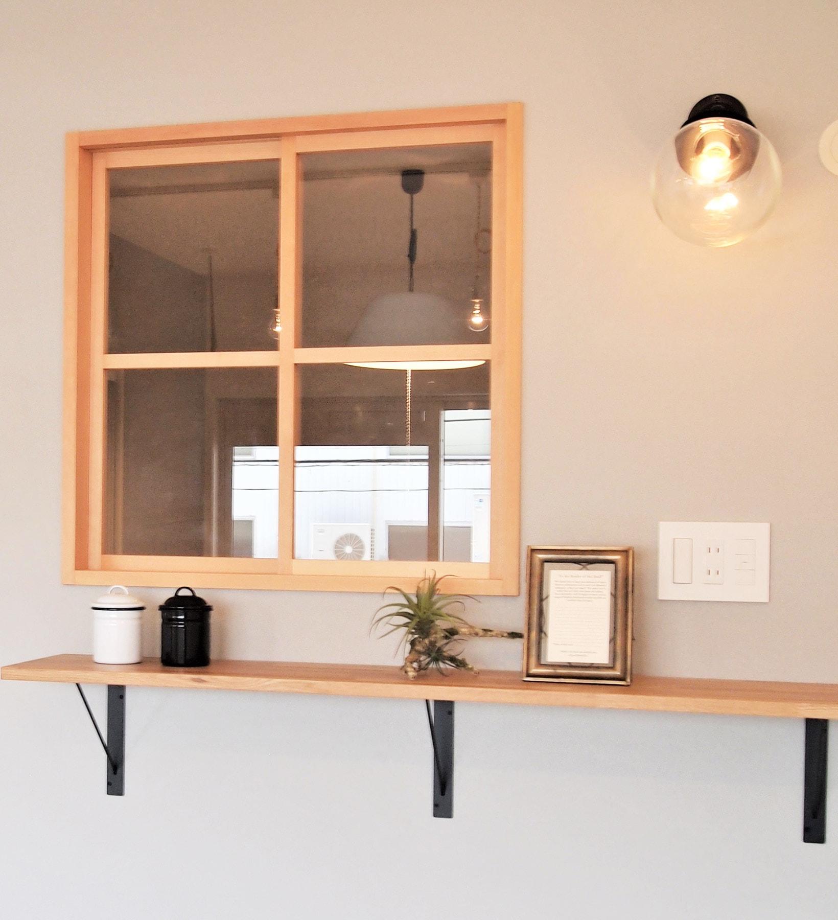 ~飾り窓&棚プラン例~ 飾り窓・棚設置(同一タイプ) 工事費20万