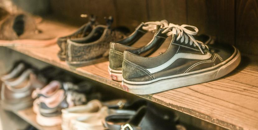 靴 写真 シューズクローゼット