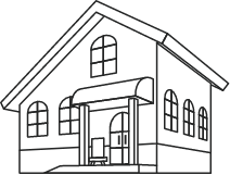 家 模型 イラスト
