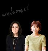 Welcome!女性スタッフ 写真